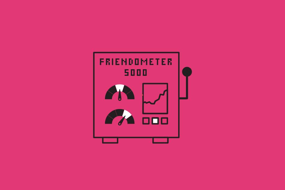 Friend-o-meter